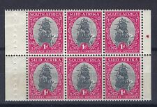 SOUTH AFRICA 1929/35 VAN RIEBECK'S SHIP BOOKLET PANE SG 115 MNH STAMPS SEE SCAN