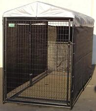 Lucky Dog Wind Screen Kennel Cage Extra Large Outdoor Pet Weather Guard Shade