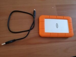 LaCie STFR2000400 2TB Portable Hard Drive - Orange
