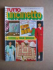 TUTTO UNCINETTO n°9 1980 edizioni GEA  [C59]