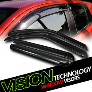 Window Visors Rain Guard 4pc GMC C//K3500 Sierra Pickup 92-97 Cheyenne Silverado