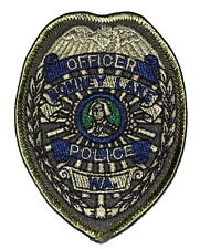 "BONNIE LAKE – SWAT - WASHINGTON WA Police Sheriff Patch SUBDUED PRESIDENT 3.5"" ~"