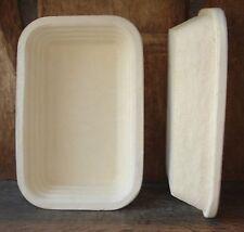 Gärkorb Gärkörbchen 2,5 kg Brote Randmuster Rille inkl. Info perfekt Brotbacken