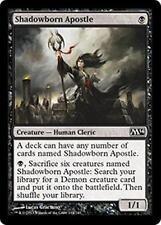 SHADOWBORN APOSTLE M14 Magic 2014 MTG Black Creature—Human Cleric Com Demon