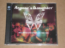 ANYONE'S DAUGHTER - REQUESTED DOCUMENT LIVE 1980-1983 - 2 CD