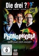 Die drei ???: Phonophobia - Sinfonie der Angst (drei Fragezeichen) DVD (2014, DVD video)