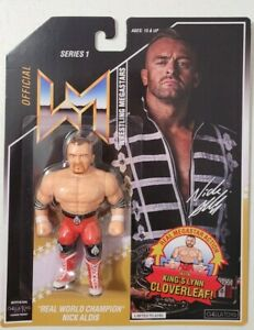 Nick Aldis OFFICIAL Wrestling Figure Chella Toys NWA TNA NJPW champion  aew wwe