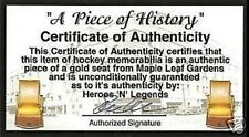 TORONTO MAPLE LEAF PHOTO PATCH GARDENS GREEN-GOLD SEAT