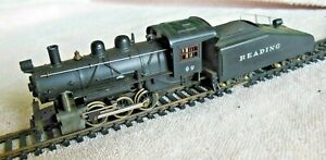 Model RR-HO Gauge Mantua Locomotive w/Tender-#99 0-6-0-Reading-Runs-Very Good