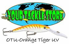 Rapala Deep Tail Dancer Tdd9 Fishing Lure 7/16oz / 13gm Various Colours Orange Tiger UV