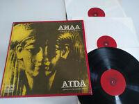 "Verdi Aida Opera Bulgaria Edition - Box 3 x LP + Libreto 12"" Vinilo VG/VG"