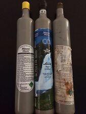 3 Kohlensäure Zylinder CO2 für Wassermaxx, Zusatzzylinder, Ersatzzylinder / leer