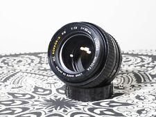 Minolta Rokkor-x pg 50mm f/1.4 MD mount lens