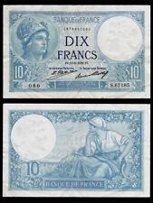 Billet France - 10F Minerve - 11.08.32 - SUP - Fay : 6.16