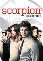Scorpion: Season Three [DVD][Region 2]