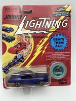 Johnny Lightning The Challengers Custom GTO Blue 1/64 Scale FREE SHIPPING