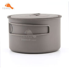 TOAKS LIGHT Titanium 700ml Pot Camping Cookware Titanium Cookware Pot Ultralight
