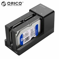 ORICO Hard Drive Enclosure Docking Station Offline Clone USB 3.0 Support 2*10TB