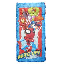 Marvel Superhero Adventures Unisex 45° Camping Sleeping Bag 56in x 28in - New