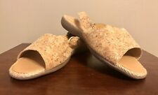 ComfortView Cork Sandals Shoes Adele Womens 9.5 Wide Width Buckle Open Toe  NEW