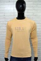 Maglione MARLBORO CLASSICS Uomo Taglia Size Large Pullover Sweater Man Cotone