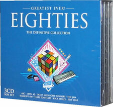 Greatest Ever Eighties 3 CD of 80s 1980s Original Music