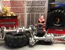 VITAVON Aluminum CNC Front /  Rear Axle Housing set for Traxxas TRX-4  1:10