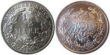 J 16   1/2 Mark Pfennig  1906 G in f.STG    015
