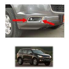 Fog Lamp Light Cover Chrome Trim For Chevrolet Holden Trailblazer 2012 - 2015