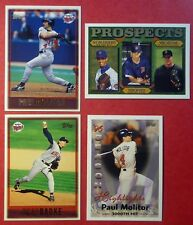 1997 Topps Minnesota Twins Complete Team with Prospect (16 cards)