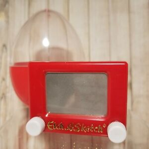 Ohio Art Company Miniature Etch A Sketch in Red Easter Egg Artist Game Child Toy