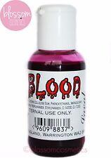 Laval Sangre Falsa Halloween Disfraz Maquillaje Gore Terror de Zombie de goteo de 50 Ml en