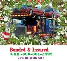 Utah Auto Transport & Towing 15% OF Bonded & Insured