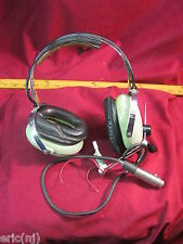 Vintage David Clark Aviation Headset Model 10CB