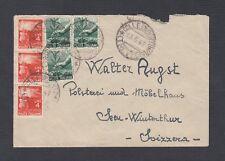 ITALY 1946-48 THREE COVERS ROMA, TREVISO & BOLOGNA TO SWITZERLAND