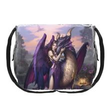 James Ryman Messenger Bag featuring Dragon Sanctuary design