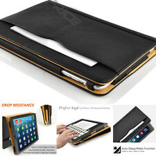 Soft Leather Sleep/Wake Flip Case Stand Wallet Cover for iPad 9.7'' 10.5'' 12.9'