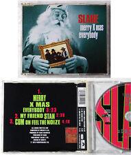 SLADE Merry Xmas Everybody .. 1993 Polydor 3 Track Maxi CD TOP