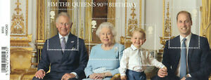 (61885) GB MNH Queen 90th Birthday minisheet unmounted mint 2016