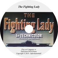 The Fighting Lady Film Video on DVD World War II History