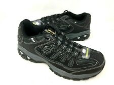 NEW! Skechers Men's AFTER BURN MEMORY FIT Shoes Black Size:8.5 #50125 f10b a