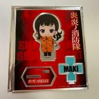 Fire Force Anime DMM Kuji Takehisa Hinawa Microfiber cloth Japan