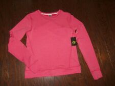 NWT ATHLETIC WORKS CORAL HEATHER POLY/RAYON SOFT SWEATSHIRT: SIZE 14/16