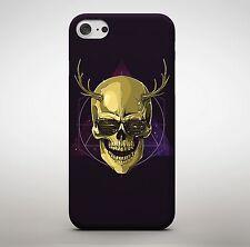 Golden Mexican Sugar Skull Phone Case Cover