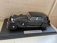 1938 MERCEDES BENZ 770K 1:18 DIECAST BY SIGNATURE MODELS - BLACK item #18129