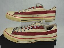 New Mens 7 CONVERSE CT AS Rummage OX USA Flag Shoes $75 1V831 Stars Stripe