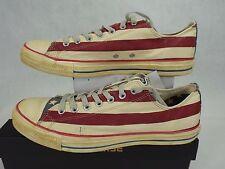 New Mens 5 CONVERSE CT AS Rummage OX USA Flag Shoes $75 1V831 Stars Stripe