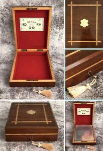 Antique Wood Gun Case Webley Scott Junior Senior Premier Air Pistol BOX ONLY