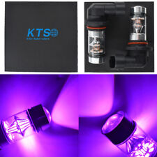 NEW 2x 9006 HB4 14000K Purple Cree Led 100W Headlight Bulb Kit Fog Driving Light