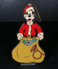 Vintage Walt Disney Goofy Santa Plastic Christmas Tree Decoration Retro Festive
